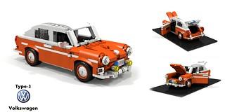 Volkswagen Type-3 Fastback