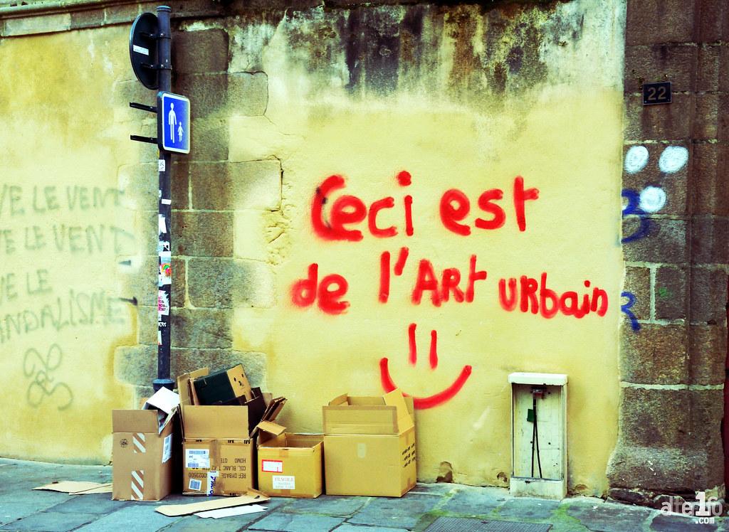 La définition de l'art urbain selon CACA...
