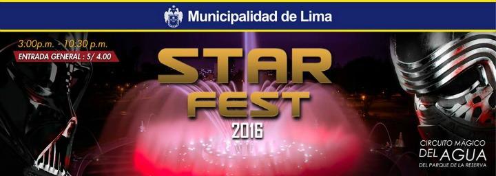 Star Fest 2016 | Circuito Mágico del Agua