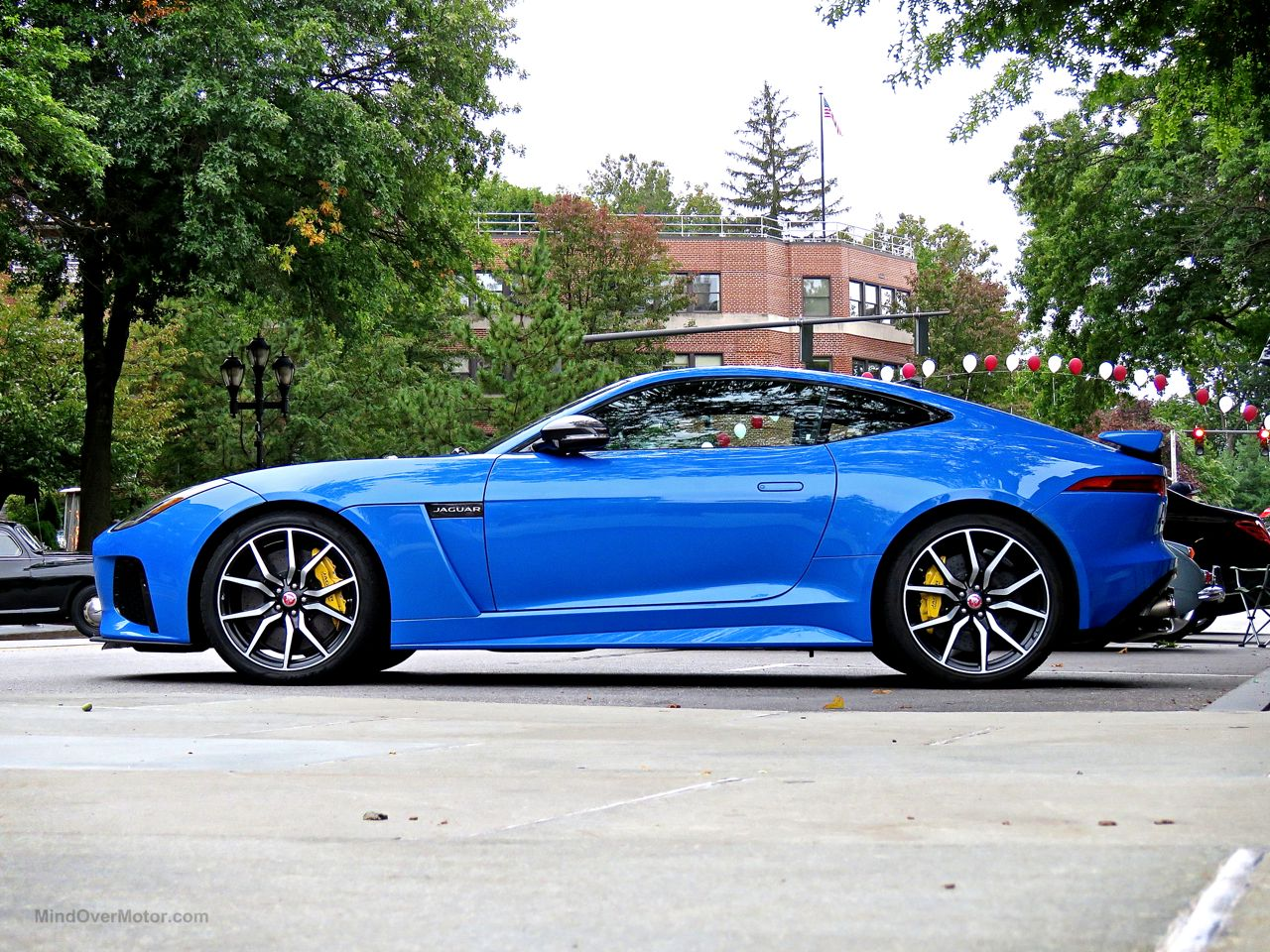 Jaguar f type blue