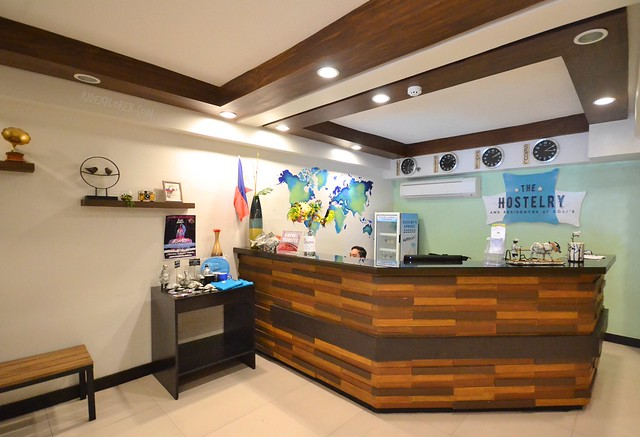 the hostelry bacolod front desk