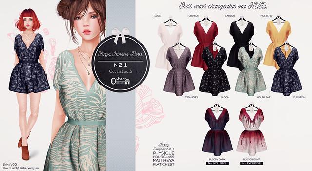 Freya Kimono Dress