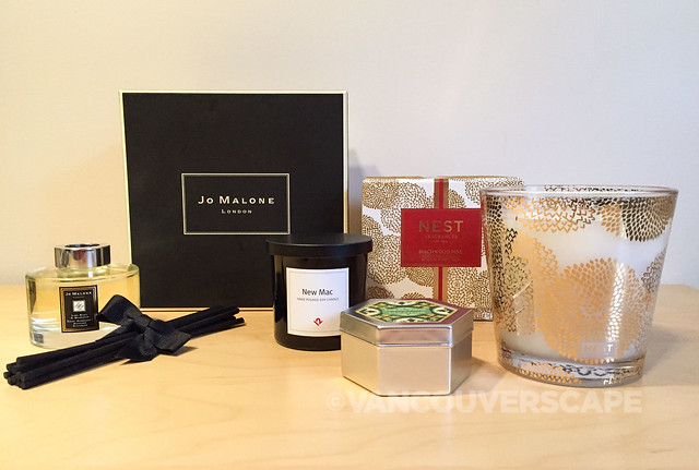 Holiday fragrances