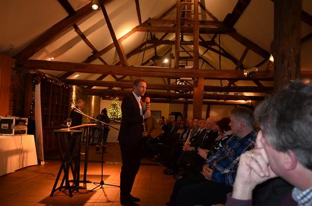 Christan Linder beim Kambacher VIP-Talk in Eschweiler am 29.11.2016