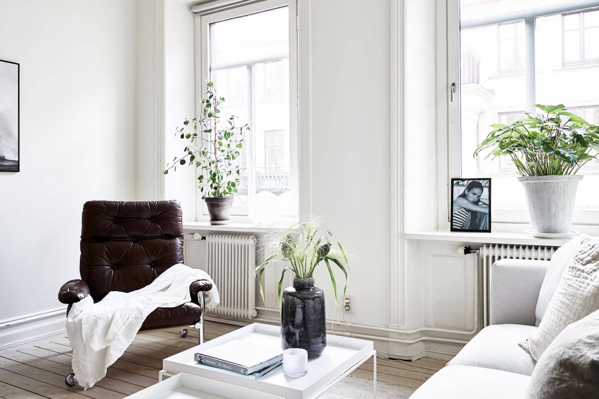 Fresh and Cosy Scandinavian Home