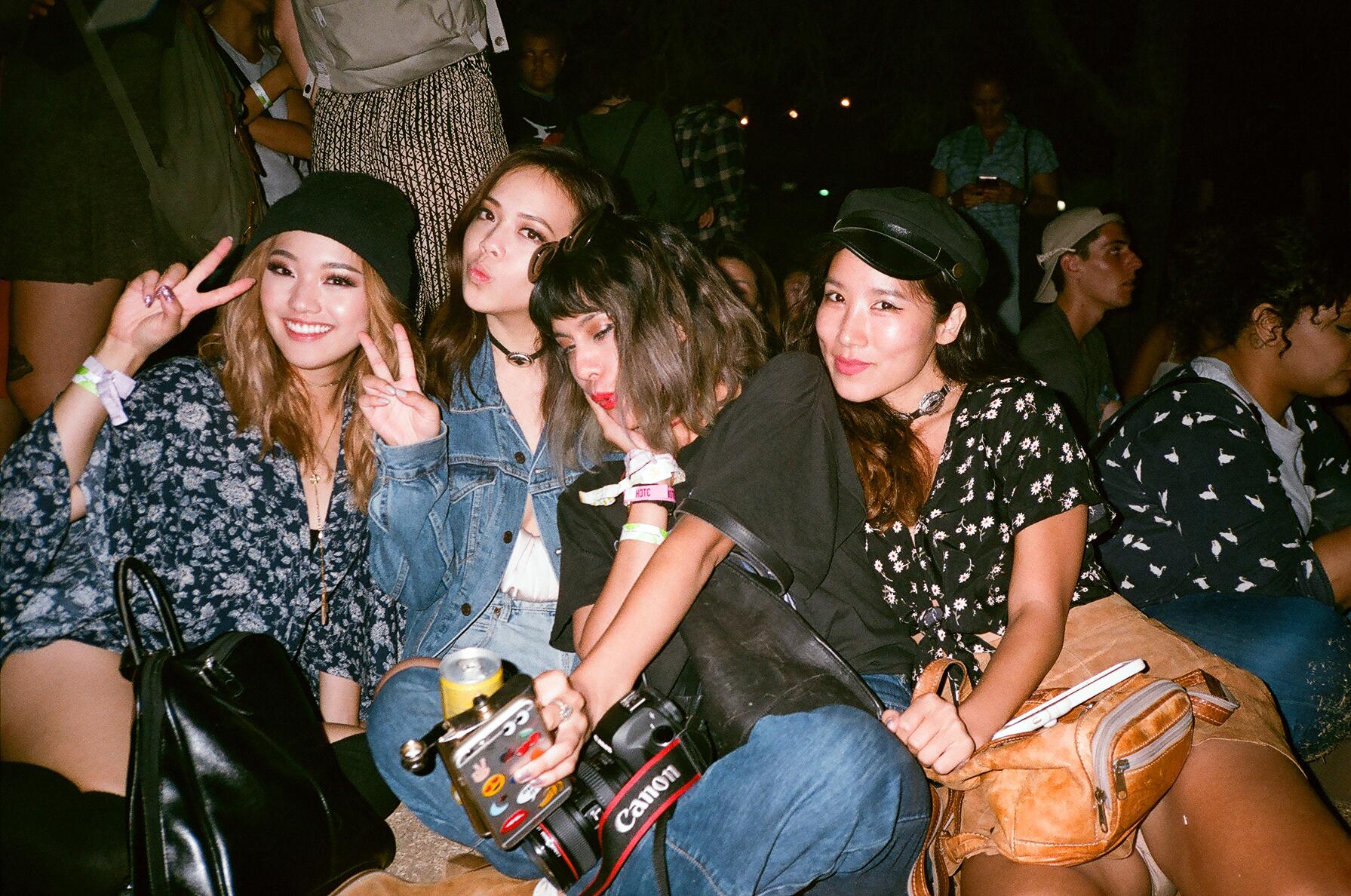 Judy Elle, Joellen Lu, Andria Kay, Jenn Im
