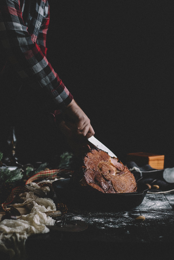 Tis' the Season for Baking (and Looking) Good | Whiskey Brown Sugar Glazed Ham + French Country Rye Bread with Slow Cooker Brandy Apple Butter | TermiNatetor Kitchen