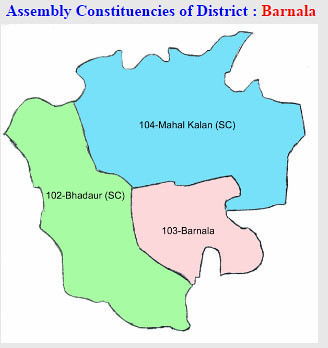 Barnala district Punjab Election 2017