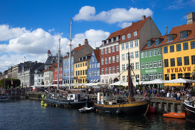 Nyhavn on the Perfect Summer Day