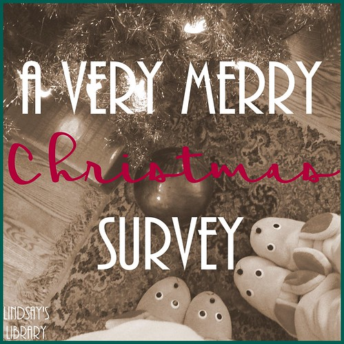 a very merry christmas survey graphic