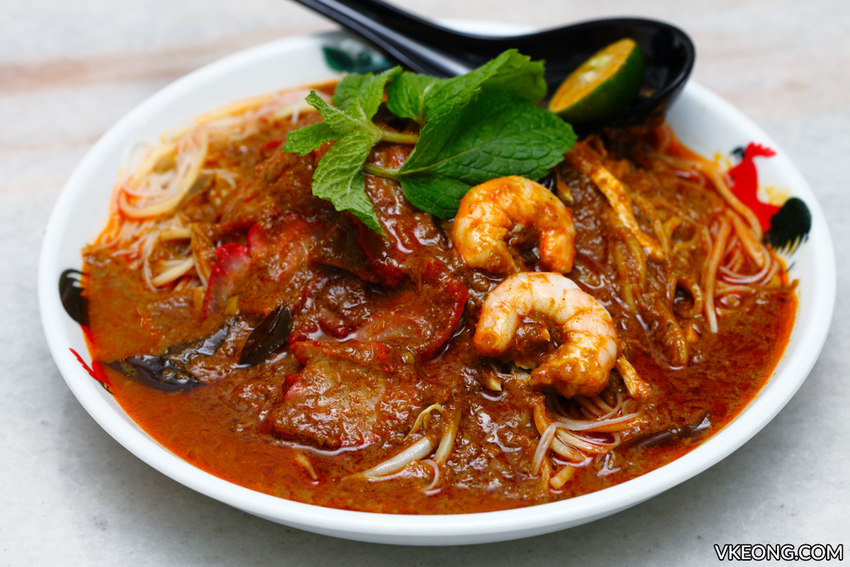 Nam Chau White Coffee Ipoh Dry Curry Mee
