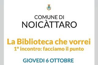 Noicattaro. Incontro biblioteca front