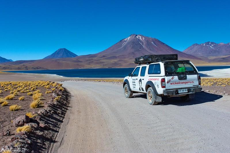 Our vehicle - Laguna Miscanti