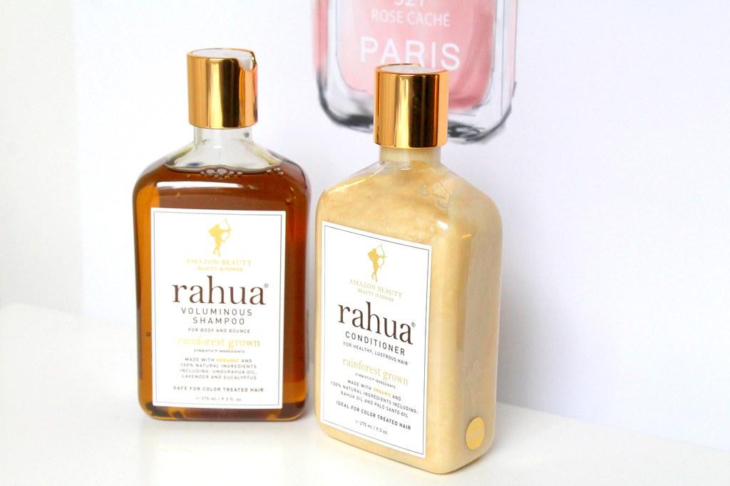 Rahua shampoo ja hoitoaine