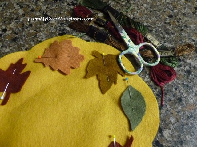 Wool Stitch Along Autumn Jubilee ~ From My Carolina Home