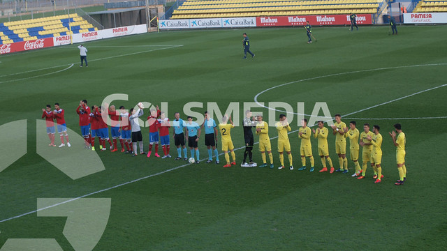 Villarreal CF B 3-2 Atlético Saguntino (12/11/2016), Jorge Sastriques