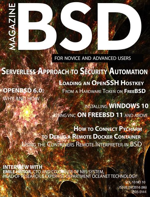 BSD Magazine 201609