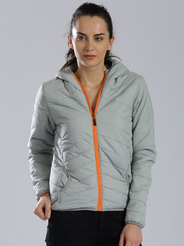 Jacket styles for women - Hooded Puffer jacket