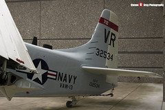 132534 - VR-712 - - US Navy - Douglas AD-5N Skyraider - Evergreen Air and Space Museum - McMinnville, Oregon - 131026 - Steven Gray - IMG_9032