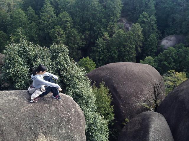 鬼岩公園 蓮華岩 しな
