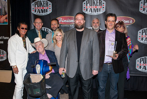 2016 Poker Hall of Fame Induction Ceremony