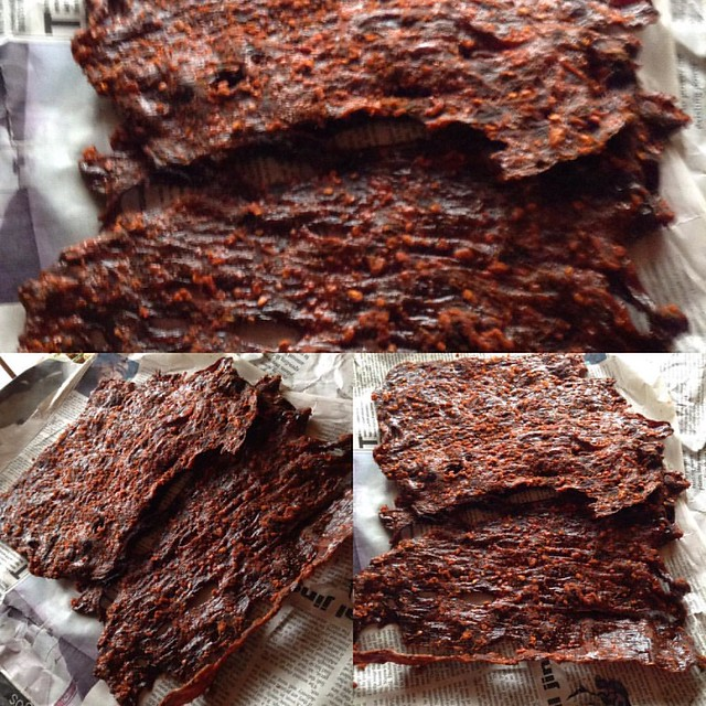 #Kilishi from northern Nigeria