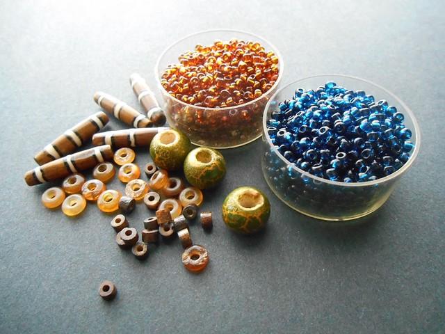 Nephthys Beads