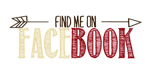find Me On Facebook social media button