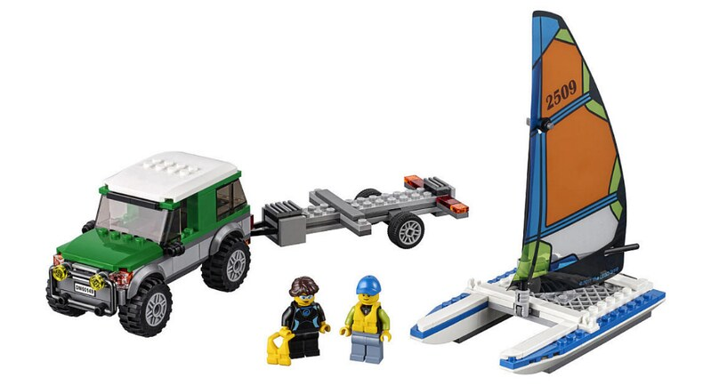 LEGO City 2017 - 4×4 with Catamaran (60149)