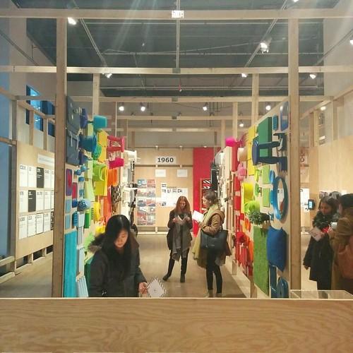 Rainbow of goods, 3 #toronto #designexchange #ikeacan40 #financialdistrict #ikea #rainbow