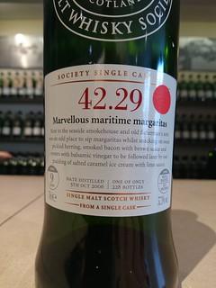 SMWS 42.29 - Marvellous maritime margaritas!