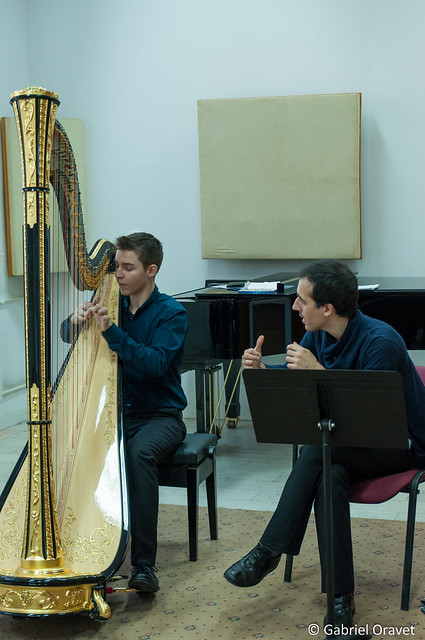 Festivalul de Harpă București 2016, MasterClass 29 oct 2016 - Bucharest Harp Festival 2016 MasterClass 29th of Oct 2016
