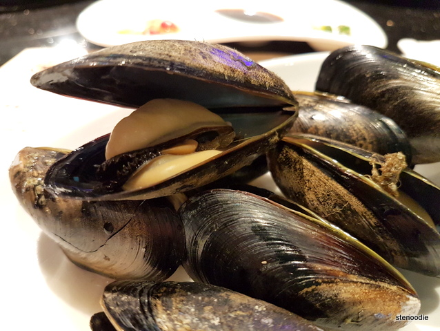 Saltspring mussels