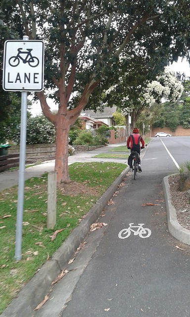 Bicycle-only street, Box Hill South