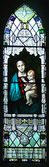 Blessed Virgin and child by William Morris & Co