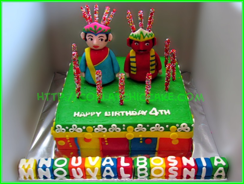 Cake Ondel Ondel