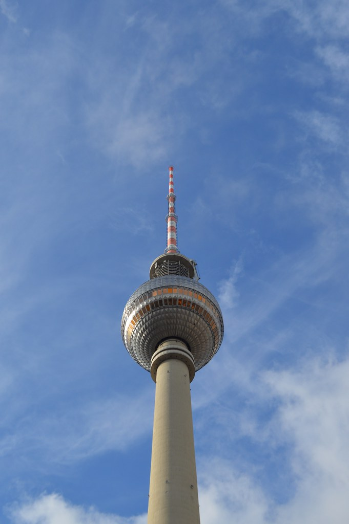 This is a picture of the tv tower in berlin
