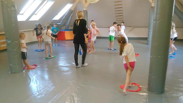 gimnastyka  Kowboi