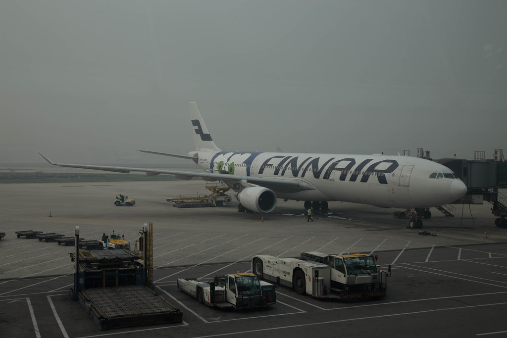 Finnair Airbus A330 in Beijing (PEK)