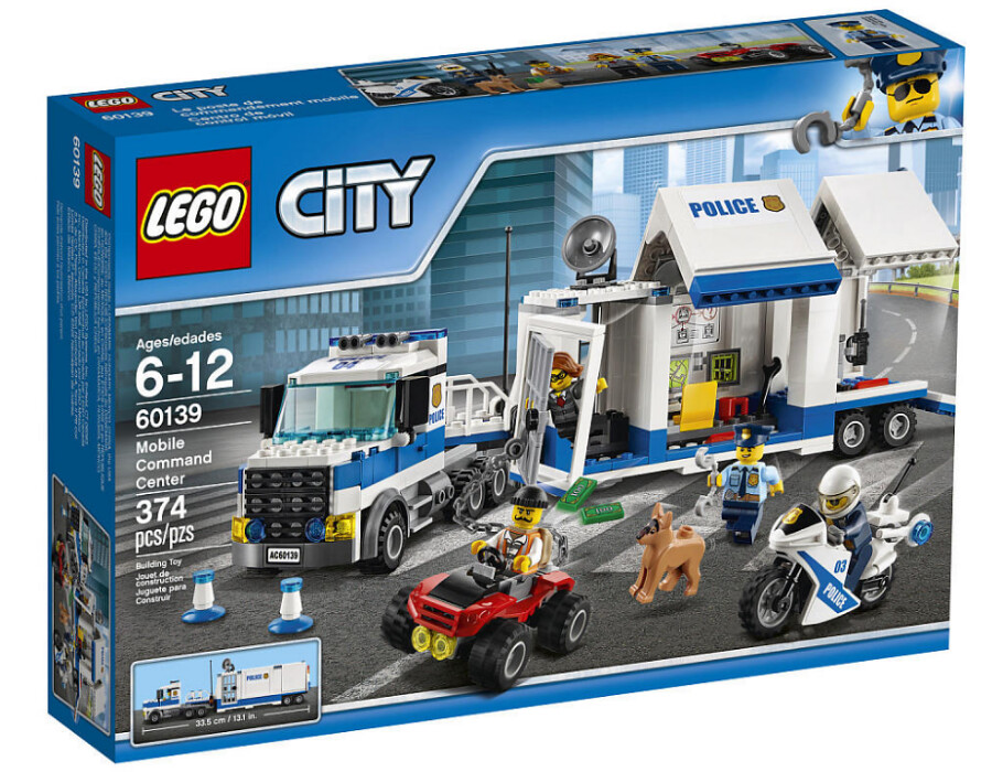 LEGO City 60139 - Mobile Command Center
