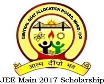 JEE Main Scholarship 2017