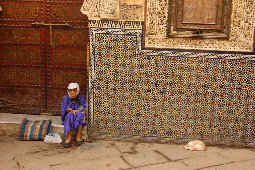 Pausa na Medina de Fez