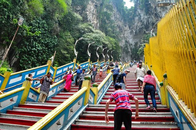 272 Steps to Batu Caves