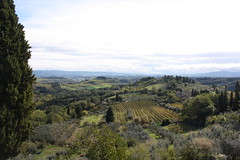 view in san gimignano