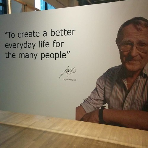 Ingvar Kamprad #toronto #designexchange #ikea #financialdistrict #ingvarkamprad