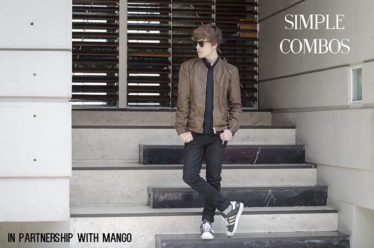 Simple Combos collaboration with Mango Man