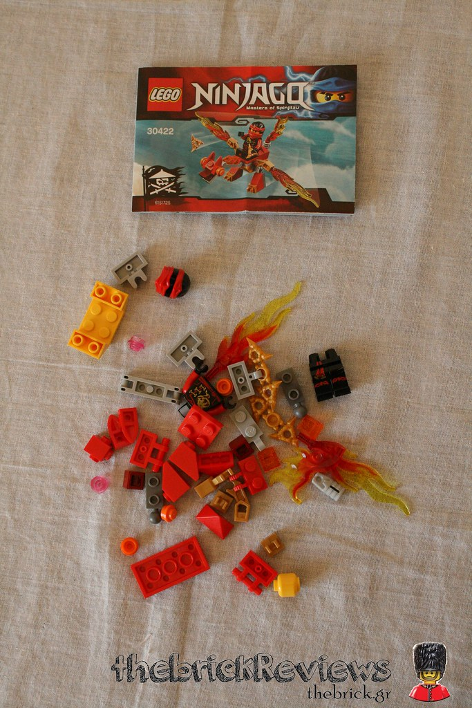 ThebrickReview: LEGO 30422 - Kai's Mini Dragon 30639117750_653e70ce81_b