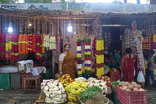 Bangalore - Flower market