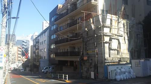 20161206三田紅葉・幽霊坂界隈