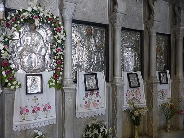 iconostase eglise d'apiranthos
